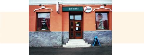 Kaviareň Graziella  Plešivec